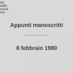 appunti-1980