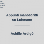 appunti-luhmann