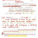 appunti manoscritti e dattiloscritti