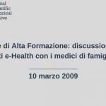 alta formazione-2009