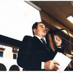 Romano Prodi alla cerimonia