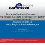 Moruzzi_Fascicolo Sanitario Elettronico come funziona, aspetti organizzativo-gestionali e infrastrutturali