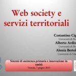 Web society e servizi territoriali